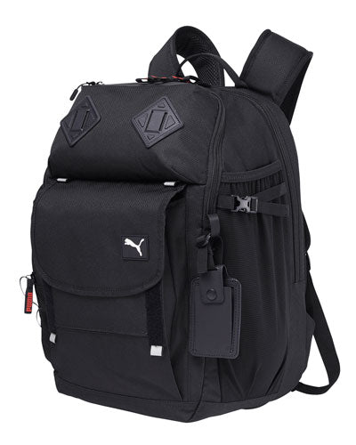 Puma Black Custom Puma Golf Adult Executive Backpack