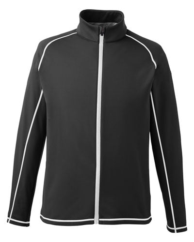 Puma Black Puma Golf Men's Fairway Full-Zip
