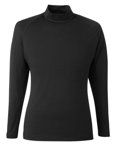 Puma Black Custom Puma Golf Men's Raglan Long Sleeve Baselayer
