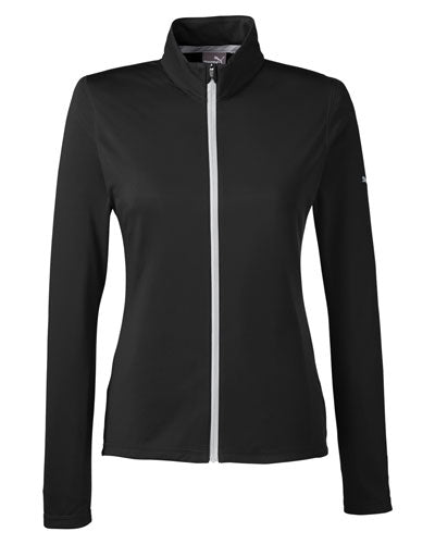 Puma Black Custom Puma Golf Ladies' Icon Full-Zip