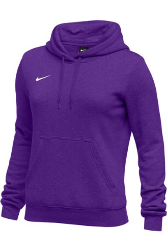 Purple Nike Ladies Hoodie