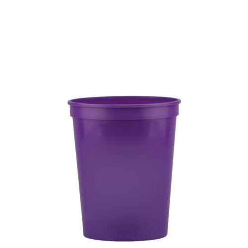 Purple Custom Stadium Cup 16oz