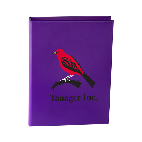 Purple Custom Sticky Note Book