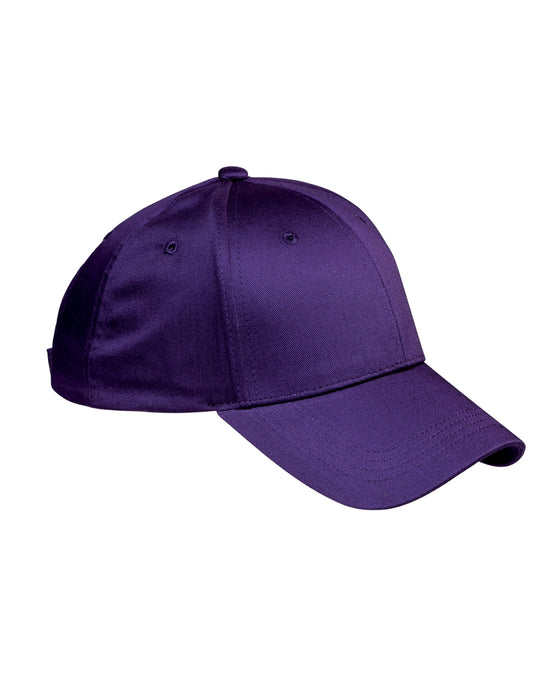 Purple Custom Structured Embroidered Hat