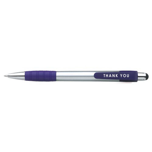 Purple Custom Stylus Ballpoint Pen
