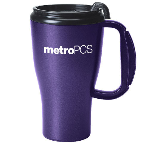 Purple Custom Travel Mug 16oz