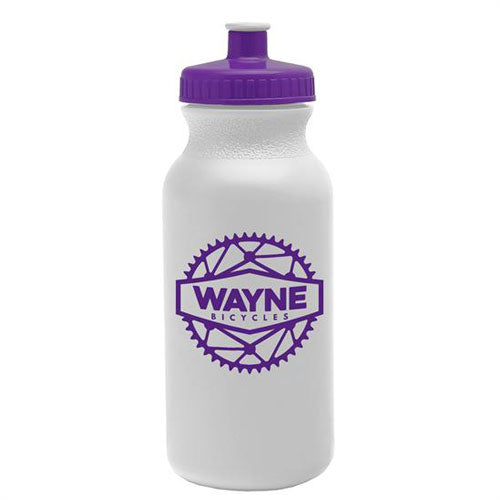 Purple Custom USA Made Water Bottle