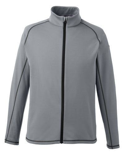 Quiet Shade Custom Puma Golf Men's Fairway Full-Zip