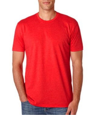 Red Custom Next Level Premium T-Shirt