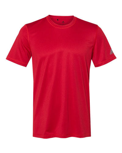 Red Custom Adidas Sport T-Shirt