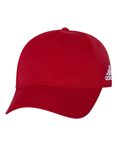 Red Custom Adidas - Core Performance Max Cap