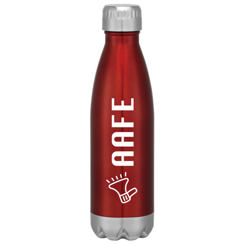 Red Custom Cola Shaped Stainless Steel Bottle
