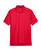 Red Custom Devon & Jones Pima Pique Polo With Logo