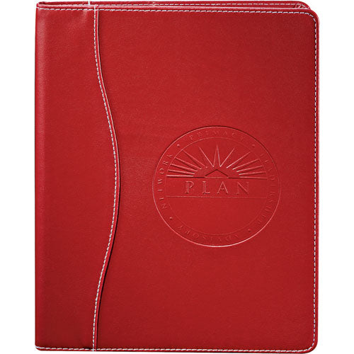 Red Custom Hardcover Journal Notepad