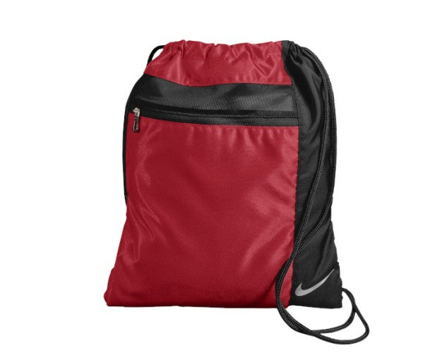 Red Custom Nike Cinch Sack