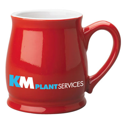 Red Custom Spokane Coffee Mug