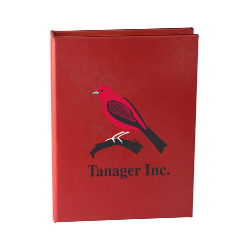 Red Custom Sticky Note Book