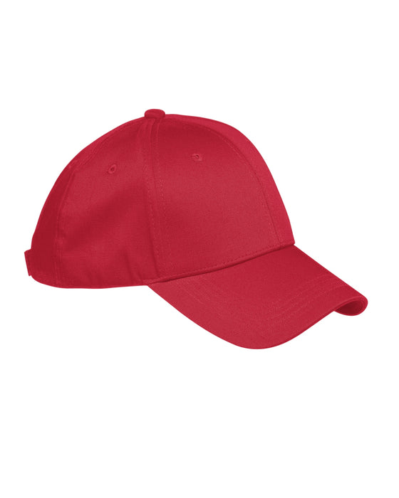 Red Custom Structured Embroidered Hat