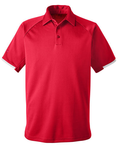 Red Custom Under Armour Rival Polo