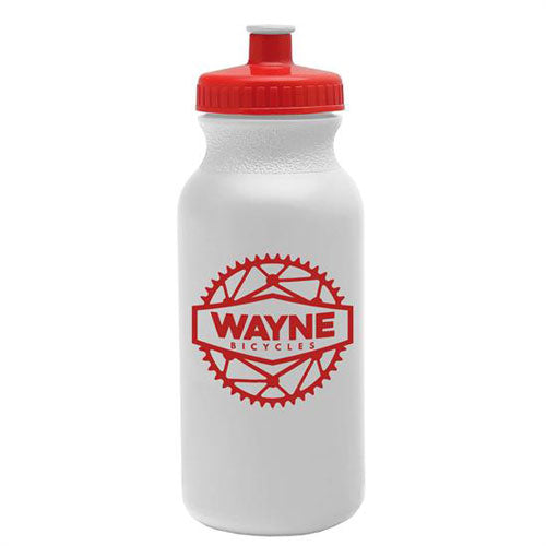 Red Custom USA Made Water Bottle