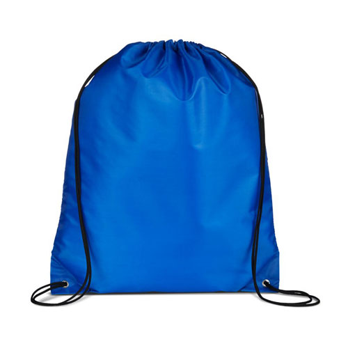 Reflex Blue Custom Drawstring Backpack