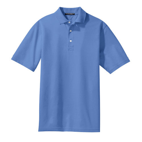 Riviera Blue Rapid Dry Polo With Logo