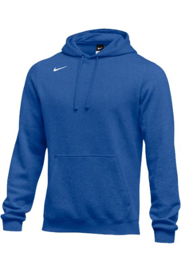 Royal Custom Nike Team Hoodie
