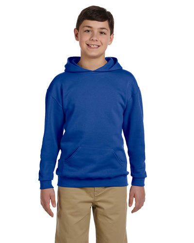 Royal Custom Jerzees Youth Hooded Sweatshirt
