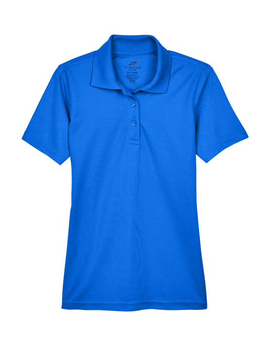 Royal Ladies Dry Wicking Polo With Logo