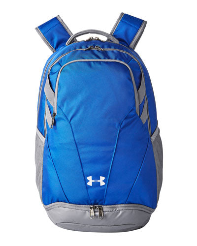 Royal/ Silver  Custom Under Armour Unisex Hustle II Backpack