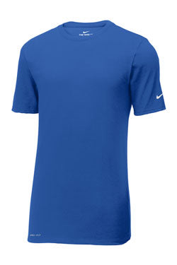 Rush Blue Custom Nike Cotton T-Shirt
