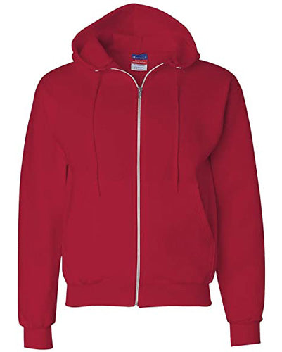 Scarlet Custom Champion Full Zip Hoodie Sweatshirt