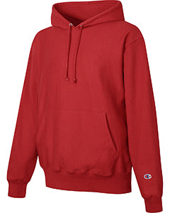 Scarlet Custom Champion Heavyweight Hooded Sweatshirt