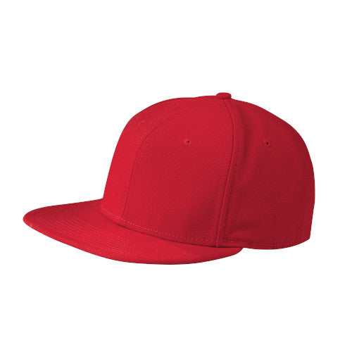 Scarlet  Custom New Era Original Fit Flat Bill Snapback Cap