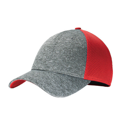 Scarlet/ Shadow Heather Custom New Era Shadow Stretch Mesh Cap