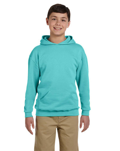 Scuba Blue Custom Jerzees Youth Hooded Sweatshirt