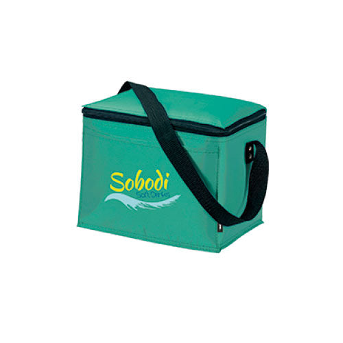 Seafoam Green Custom 6 Pack Cooler Bag