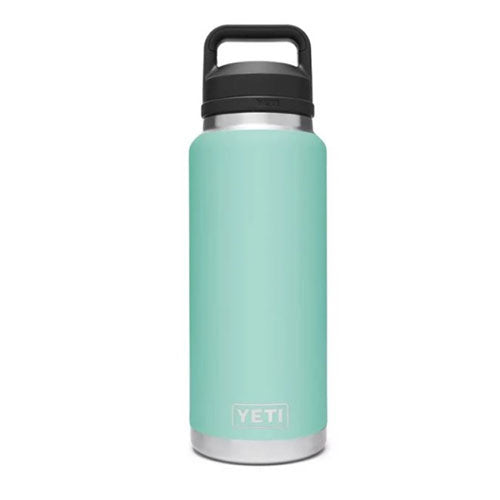 Seafoam Custom YETI 36 oz Rambler Bottle