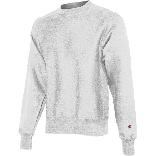 Silver Gray Custom Champion Heavyweight Sweatshirt