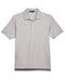 Silver Devon & Jones Pima Pique Polo With Logo