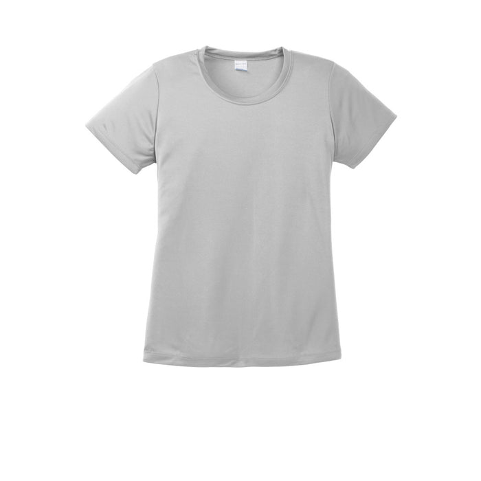 Silver Custom Ladies Dry Performance T-Shirt