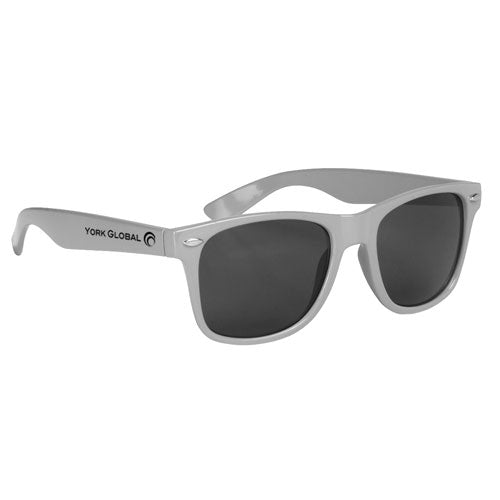Silver Custom Malibu Sunglasses