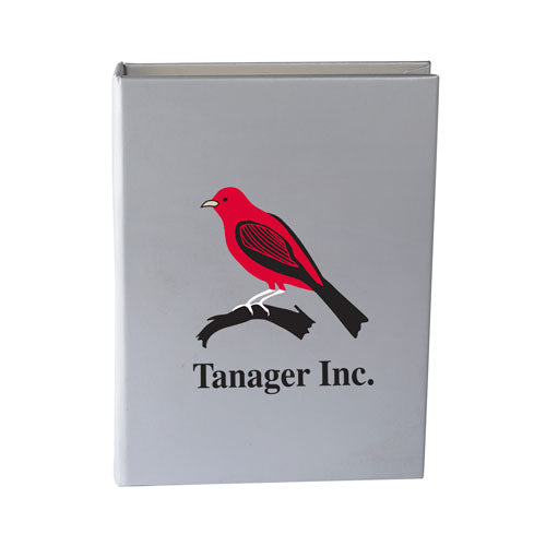 Silver Custom Sticky Note Book