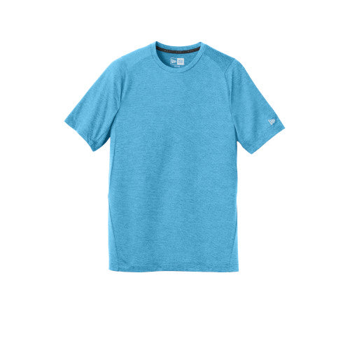 Sky Blue Custom New Era Series Performance Crew Tee
