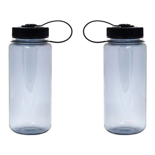Smoke Gray Custom Nalgene 16oz Wide Mouth Bottle