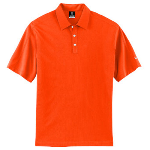 Solar Orange Nike Tech Dri-FIT Polo With Logo