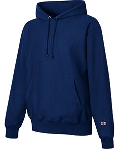Sport Dark Navy Custom Champion Heavyweight Hooded Sweatshirt