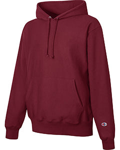 Sport Maroon Custom Champion Heavyweight Hooded Sweatshirt