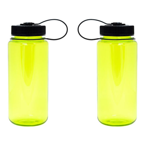 Spring Green Custom Nalgene 16oz Wide Mouth Bottle