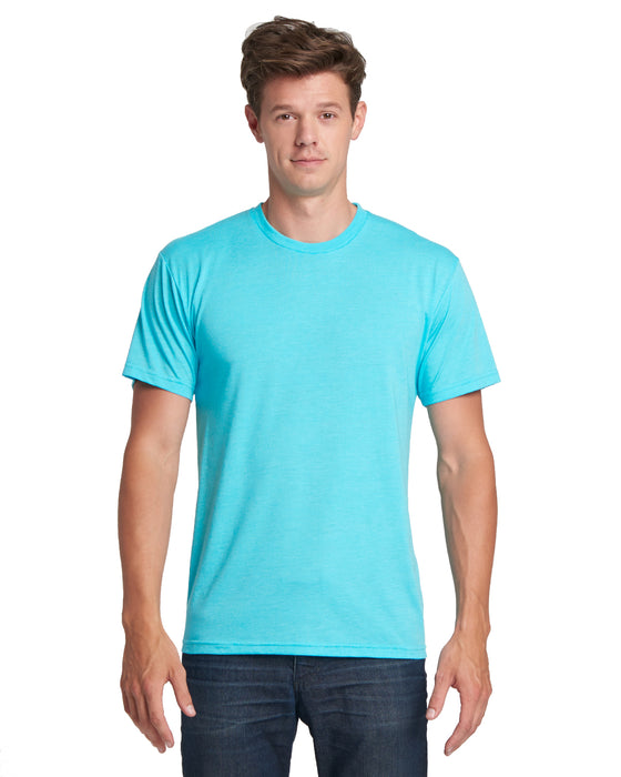 Tahiti Blue Custom Next Level TriBlend T-Shirt